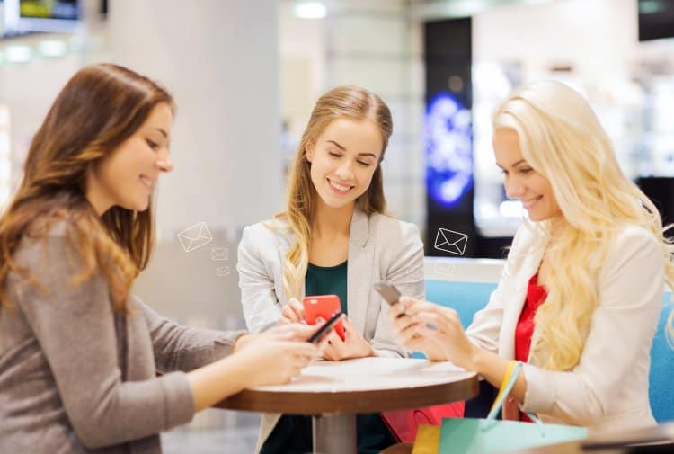 attract customers with sms
