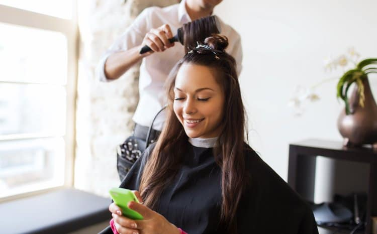 sms in the beauty industry